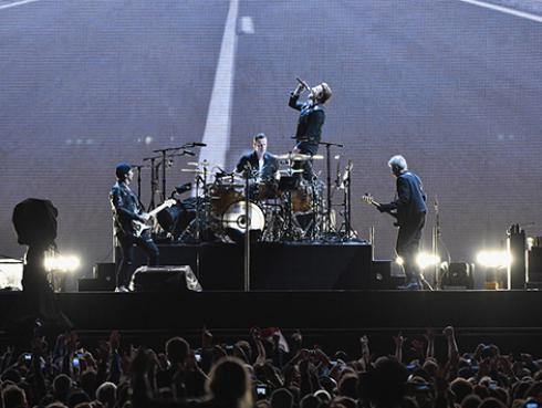 U2 es la banda con mejor recaudación en giras de la última década
