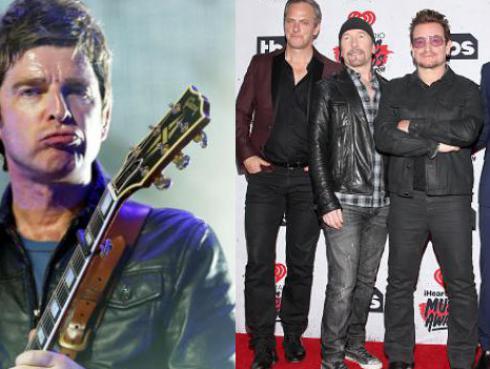 Noel Gallagher se une a U2 en gira por Europa