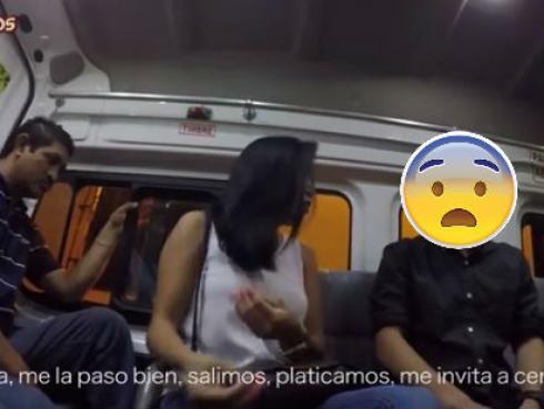 Le confiesa en una 'combi' que le fue infiel con su amigo y así reaccionaron los pasajeros [VIDEO]