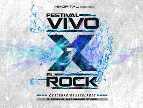 Festival 'Vivo X El Rock 7': ¡¡Conoce la lista completa de las bandas y el precio de entradas!!