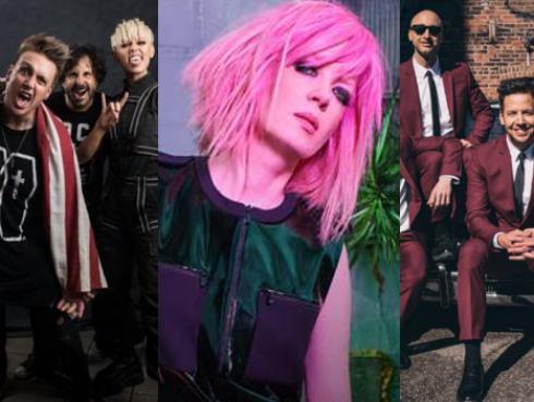 Vivo x el rock 8: Confirman a Garbage, Papa Roach y Simple Plan