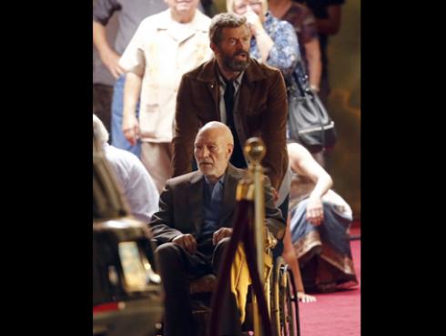 ¡Primeras imágenes del rodaje de 'Wolverine 3' revelan nuevo personaje!