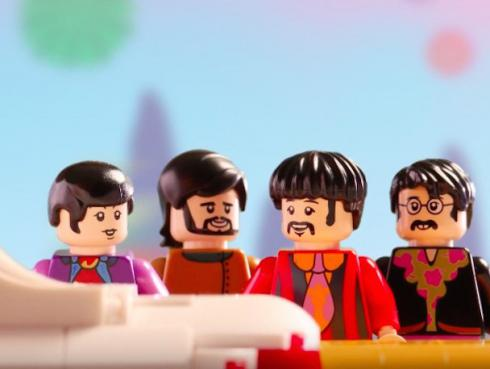 ¡Regresó 'Yellow Submarine' de The Beatles pero en versión LEGO!  [VIDEO]