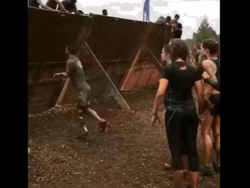 Hombre con un solo brazo y una sola pierna, demostró que no existen imposibles [VIDEO]