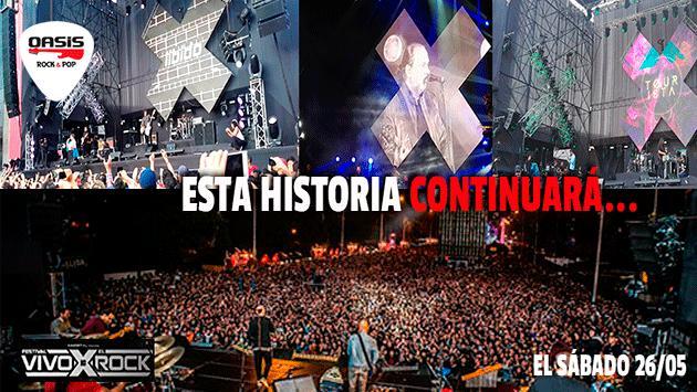 'Vivo x el Rock 10 - El resumen' - Parte I [VIDEOS Y FOTOS]