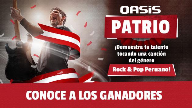 Oasis Patrio: ¡Demuestra tu talento nacional con tu canción del Rock & Pop y GANA!