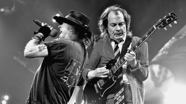 Baterista de AC/DC habló sobre un posible disco junto a Axl Rose ...