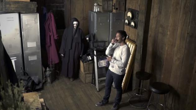 Querían asustarlo con broma de 'El Conjuro' pero jamás imaginaron que terminaría así [VIDEO]