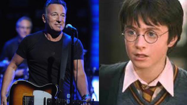 ¡La vez que 'Harry Potter' choteó a Bruce Springsteen!