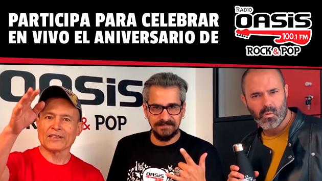 ¡Conoce a los ganadores que celebraran el aniversario de radio Oasis en vivo junto a sus locutores!