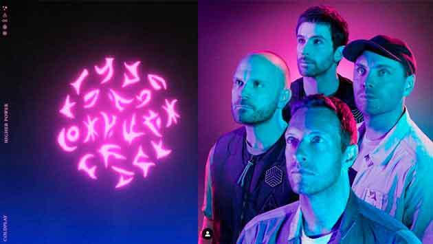 Coldplay muestra un avance de su nuevo tema 'Higher Power'