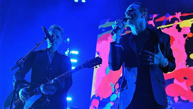 Depeche Mode celebra su ingreso al Salón de la Fama