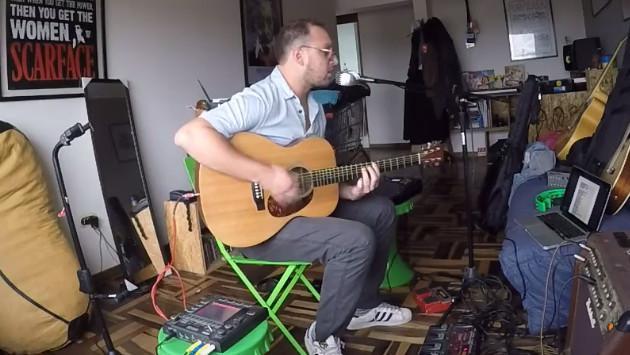 El Marshall se convierte en un 'one man band' y versiona 'Cosas imposibles' de Gustavo Cerati [VIDEO]