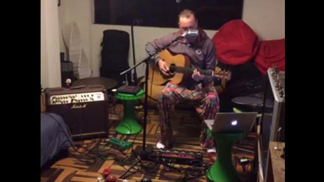 El Marshall se convierte en un 'one man band' y versiona a Michael Jackson, The Police, Bob Marley y más [VIDEO]