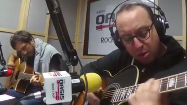 #Fogatera: El Marshall y Piccini interpretaron 'Sabor a Mí', de Los Panchos