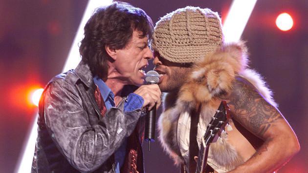 El ritual que compartían Mick Jagger y Lenny Kravitz