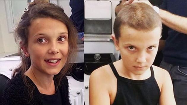 Millie Brown rapándose la cabeza para interpretar a 'Eleven' en 'Stranger Things' es furor en internet