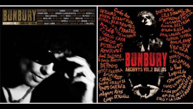 ¡Bunbury se viene con 'Archivos'! 2 volúmenes de grabaciones especiales