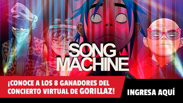 ¡Estos son los 8 ganadores de las entradas para el concierto virtual de Gorillaz!