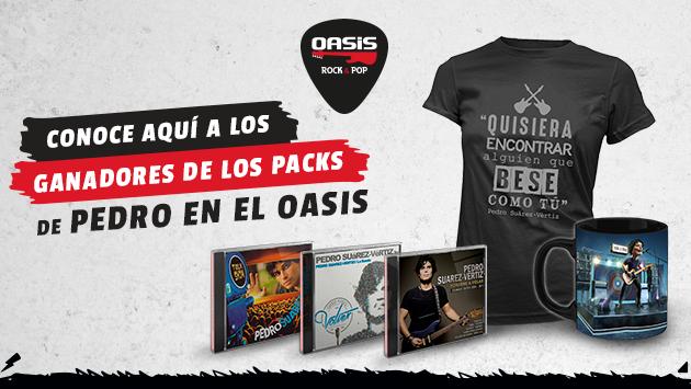 ¡Estos son los ganadores de los Pack de 'Pedro en el Oasis'!