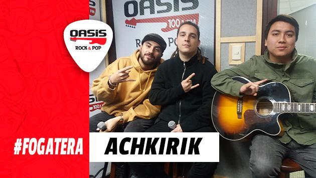 #Fogatera: ACHKIRIK interpretó 'Papi, ¿Dónde Está el Funk?', de Los Tetas [VIDEO]
