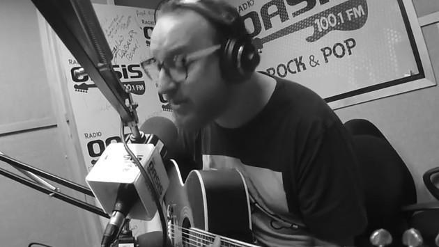 #Fogatera: El Marshall interpretó 'Everlong', de Foo Fighters