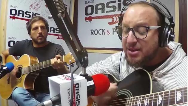 #Fogatera: El Marshall y Piccini interpretaron 'Bonito', de Jarabe De Palo