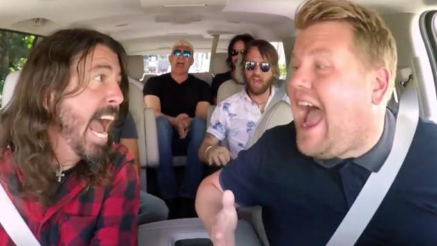 Foo Fighters cantó sus clásicos en 'Carpool Karaoke' por 13 minutos [VIDEO]