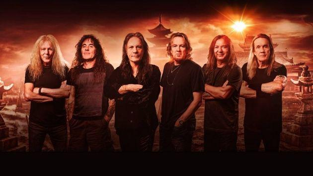 Iron Maiden anuncia nuevo álbum 'Senjutsu', inspirado en el Oriente