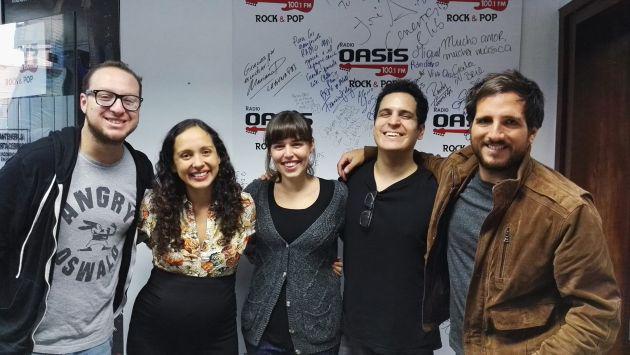 La Lá y Alejandro y Maria Laura estuvieron en La Fogatera del Oasis [VIDEO]