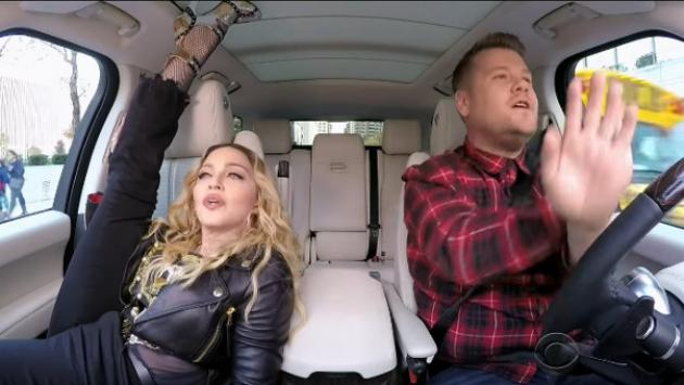 Madonna y su sensual 'twerking' en el 'Carpool Karaoke' [VIDEO]