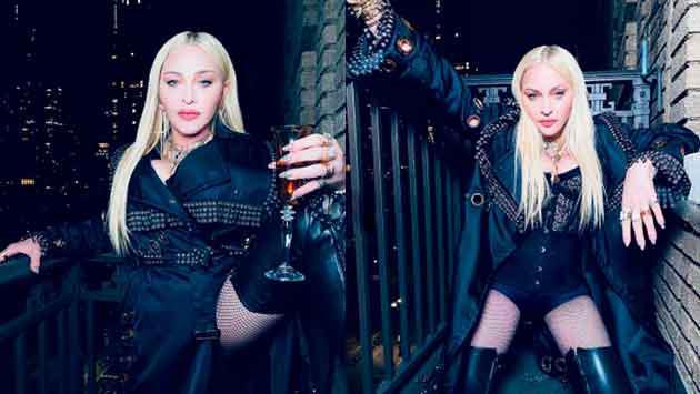 Madonna vuelve a posar en lencería y alborota las redes