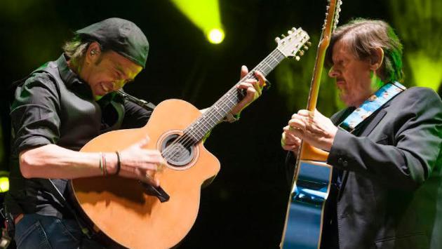 Los Secretos y Mar de Copas juntos en concierto