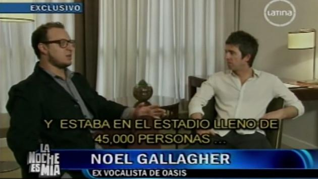 El día que El Marshall entrevistó a Noel Gallagher [VIDEO]