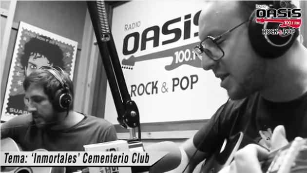 Fogatera a pedido del público: 'Inmortales', Cementerio Club