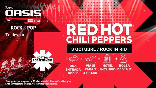 ¡Conoce a la afortunada ganadora que verá a los Red Hot Chili Peppers en Rock in Rio en Brasil!