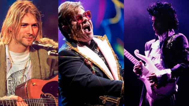 Retrato de Kurt Cobain, guitarra de Prince y piano de Elton John se subastan por más de 5 millones de dólares