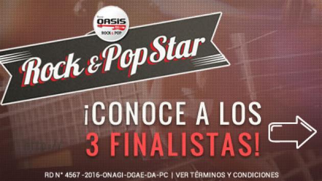¡El 1er Rock & Pop Star ya tiene sus 3 finalistas!