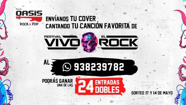 ¡Ganadores de entradas dobles para Vivo X El Rock (sábado 26 de Mayo)!