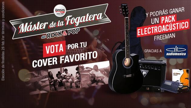 Vota por tu cover favorito y elige al 'Máster de la Fogatera'