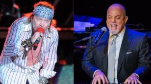 ¿Qué conversaron Axl Rose y Billy Joel antes de un concierto?