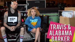 Baterista de Blink-182 y su hija hacen campaña en favor de los animales [VIDEO]