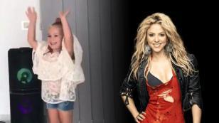 Una mini-Shakira que enamora a la propia cantante colombiana [VIDEO]