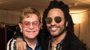 Lenny Kravitz revela la gran influencia que tuvo Elton John en su vida