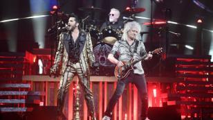 Queen: Roger Taylor y Brian May fueron recibidos por una multitud en Corea del Sur