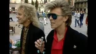 ¡Revelan video de David Bowie y Peter Franpton recorriendo Madrid hace 30 años!