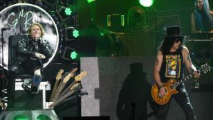 Slash estaría trabajando en un nuevo material para los Guns N' Roses